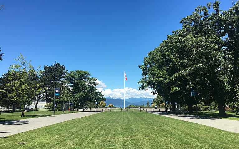 Main Mall, UBC