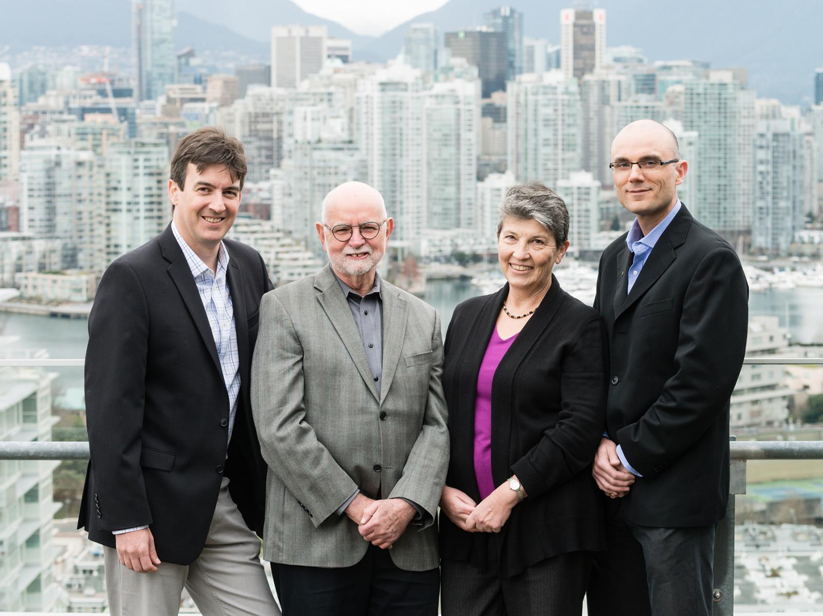 Dr. François Bénard (The University of British Columbia), Dr. Thomas J. Ruth (TRIUMF), Dr. Anna Celler (The University of British Columbia), Dr. Paul Schaffer (TRIUMF)