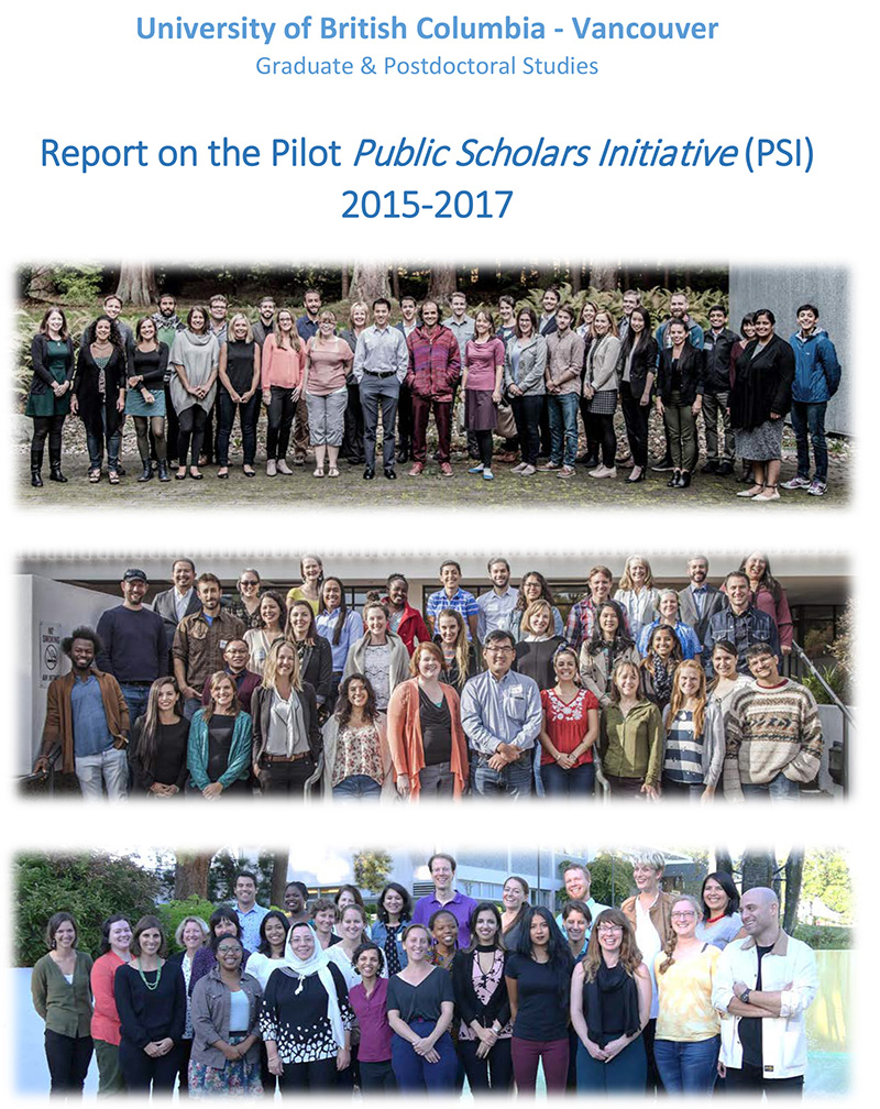 Public Scholars Initiative Report 2017