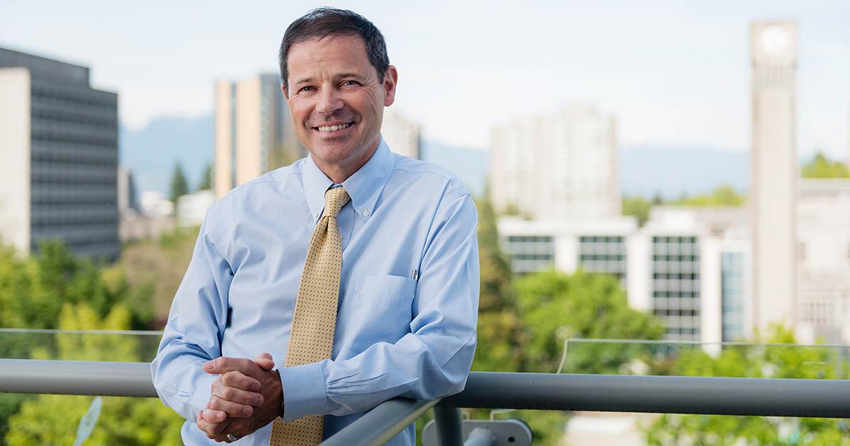 Andrew Szeri, UBC provost and vice-president, academic