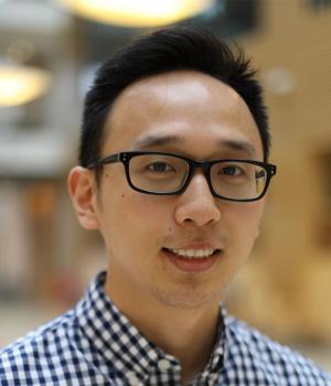 UBC graduate student Daniel Kwon