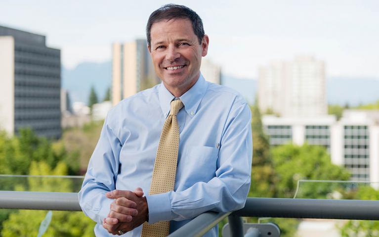 Andrew Szeri, provost and vice-president academic, UBC