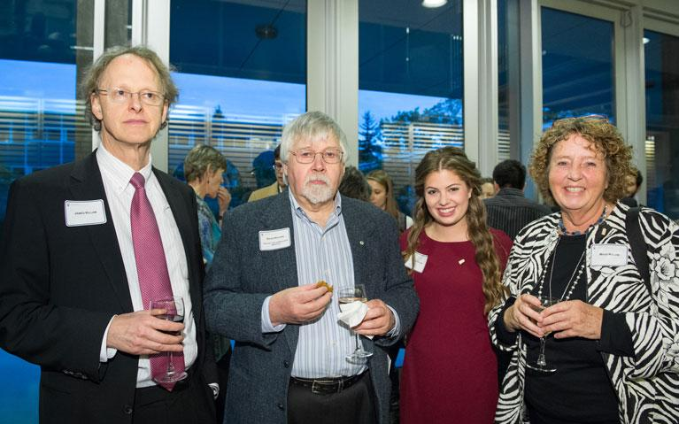 Killam Prof. David Dolphin and Members of the Killam Family