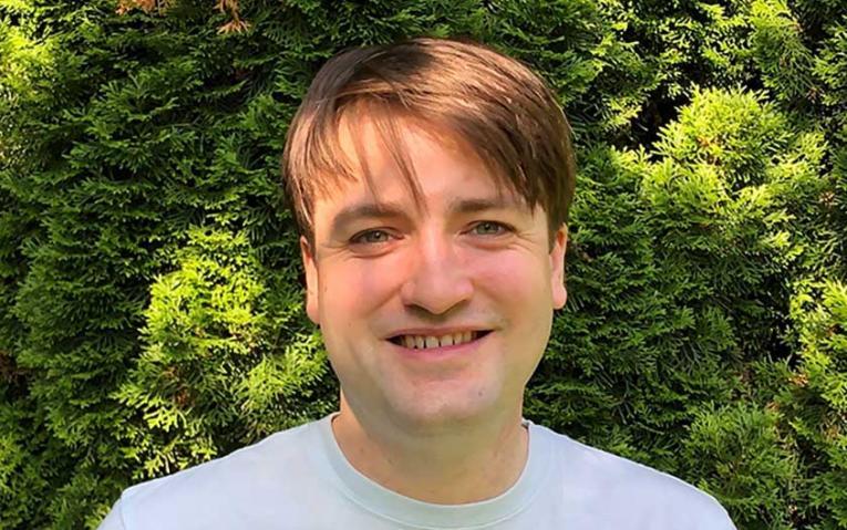 UBC graduate student, Félix Cormier