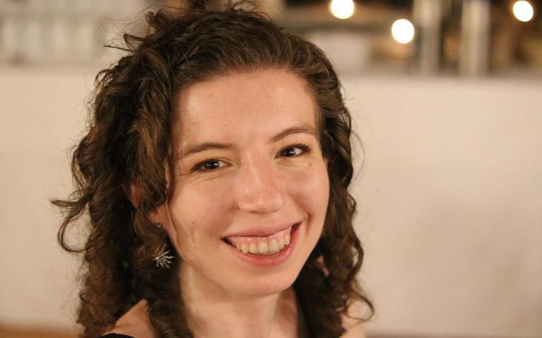 Mollie Holmberg, UBC graduate student ambassador