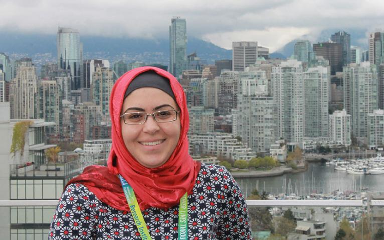 Karama Asleh, UBC graduate student, Interdisciplinary Oncology