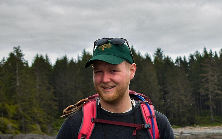 UBC graduate student Hayden Scheiber