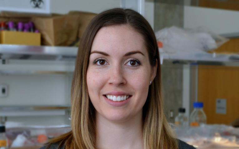 Gillian Vandekerkhove, UBC graduate student
