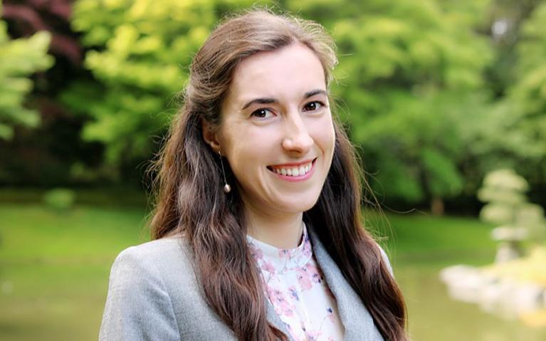 UBC graduate student Kyrie Vermette