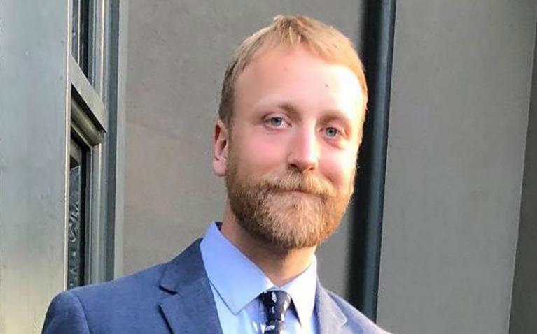 UBC graduate student Joseph Zsombor-Pindera