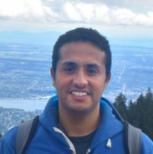 UBC graduate student Khaled Ahmed