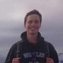 UBC graduate student Sam Anderson