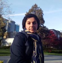 Marjan Ebneshahidi, UBC graduate student ambassador