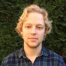 UBC graduate student Collin Wierts